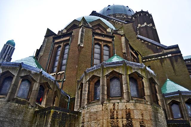 Cúpulas traseras Basílica del Sagrado Corazón Bruselas