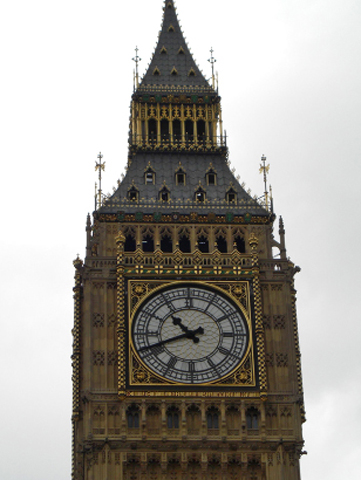 Reloj Big Ben Houses of Parliament Londres
