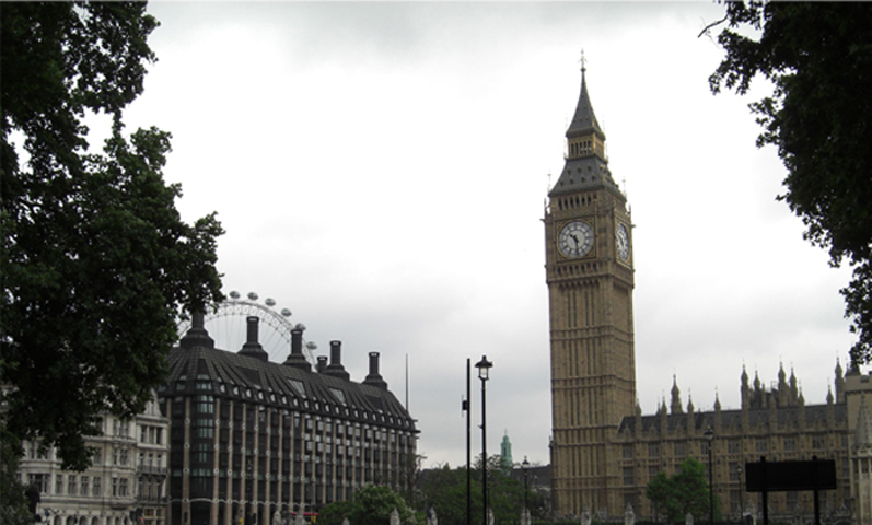 Big Ben Bristish Airways London Eye Westminster Londres