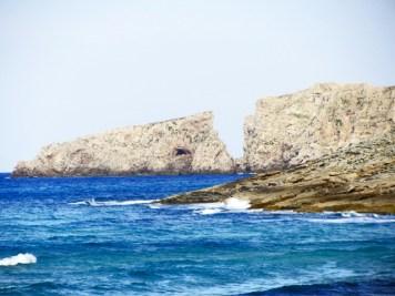 Mar rocas Cala Mesquida Mallorca