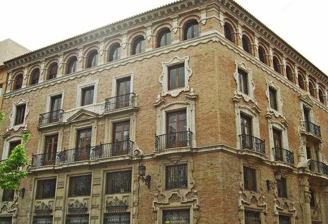 Casa Palacio los Pagán Modernismo Plaza de Santo Domingo