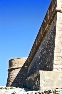 Castillo de San Felipe custodiando Los Escullos
