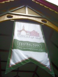 Central Park dairy gift shop