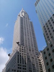 Chrysler Building art deco symbol at 42nd Street
