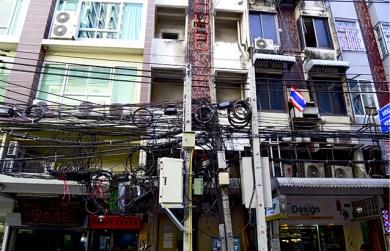Cableado y electricidad Chinatown Bangkok