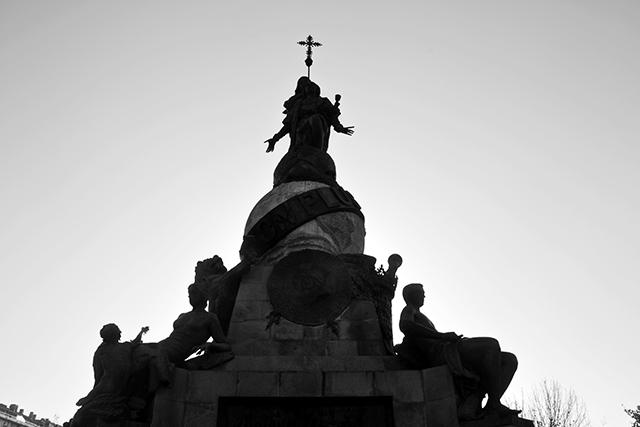 Monumento Cristobal Colón centro Valladolid