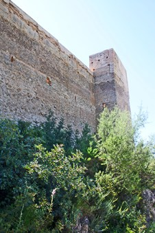 Muros Castillo de Forna Vall de Gallinera Alicante