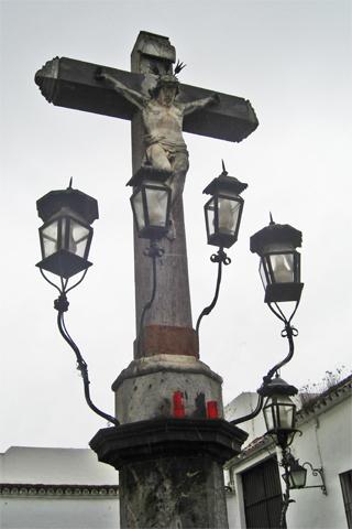 Escultura Cristo de Los Faroles Córdoba