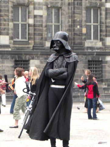 Mimo Dar Vader Plaza Damm Amsterdam