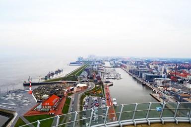 Panorámica Hotel Atlantis puerto Bremerhaven Alemania