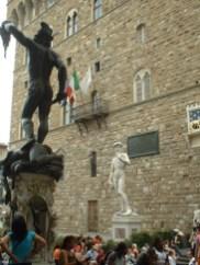 Esculturas David Rafael Plaza Signoria Florencia