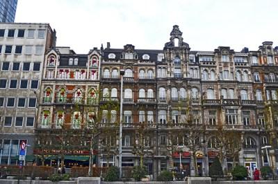 De Brouckere calles Bruselas