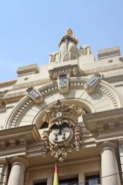 Fachada decoración neoclásica Albacete