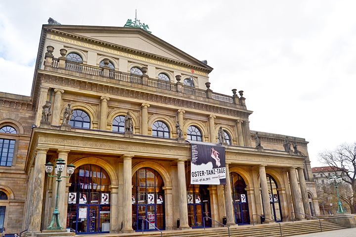 Fachada teatro ópera Staatsoper Hannover