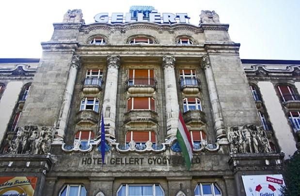 Fachada Balneario Gellért Budapest