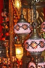 Lámparas turcas Gran Bazar Estambul