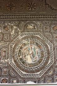 Mosaico romano arte Museo Santa Cruz Toledo