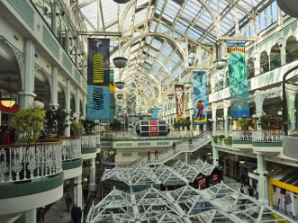 Centro comercial St Stephens Green centro histórico Dublin