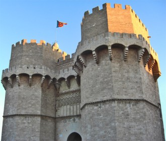 Entrada triomfal de Jaume I per les Torres dels Serrans