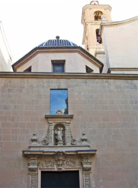 Fachada principal Concatedral San Nicolás Alicante