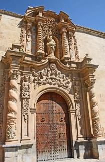 fachada barroca decoración Santuario Monserrate Orihuela