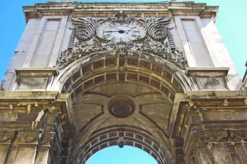 Arco reloj Plaza del Comercio Lisboa