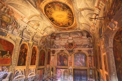 Decoración interior Monasterio Descalzas Reales Madrid