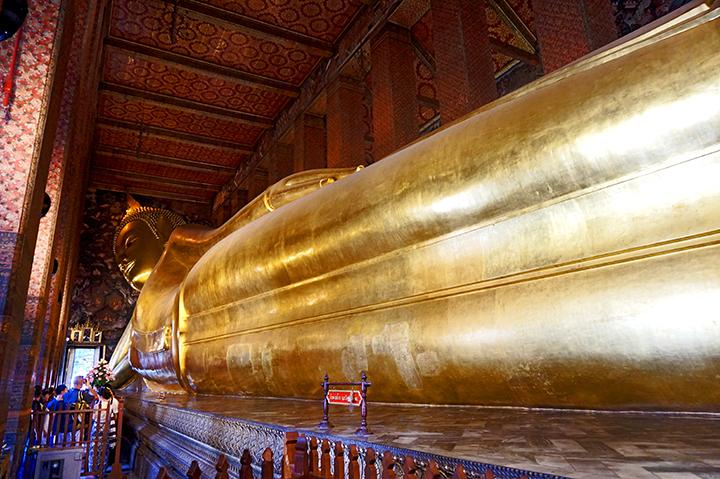 Buda reclinado What Pho Bangkok