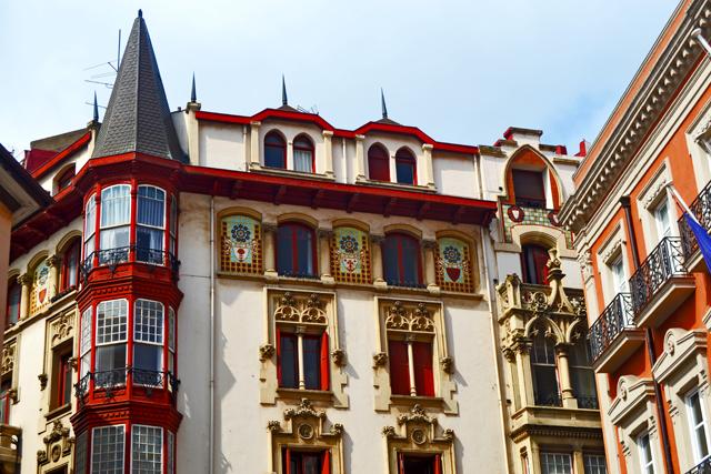Casa Bustamanre modernismo catalán gótico alemán Portugalete País Vasco