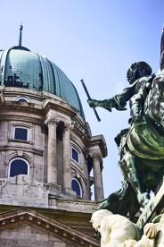 Estatua caballo Eugenio de Saboya Budapest