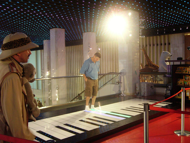 Piano FAO Schwarz Big película Tom Hanks Nueva York
