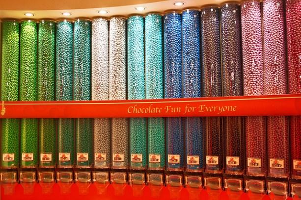 Tienda M&M'S sabores colores World Leicester Square Londres