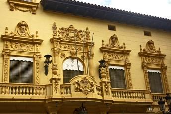 Balcones modernismo Art Nouveau calles Castellón