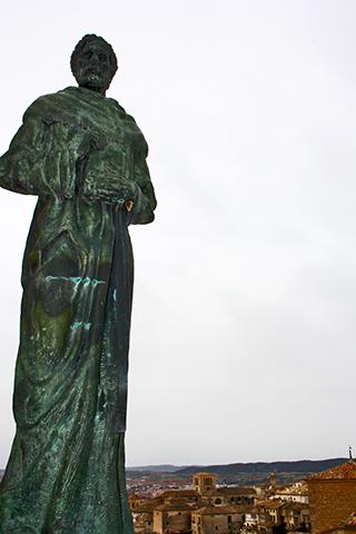 Escultura Fray Luis de León Cuenca