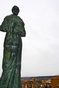 Fray Luis de Leon da la bienvenida a Cuenca