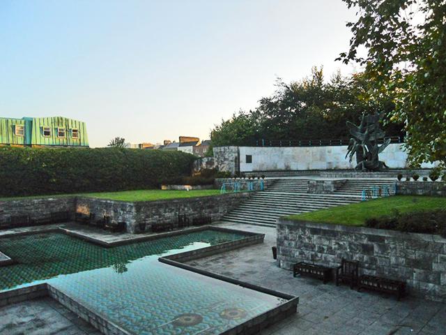 Jardín del Recuerdo pasado Irlanda libertad Dublín