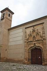 Fachada Gótico Monasterio Santa Isabel la Real Granada