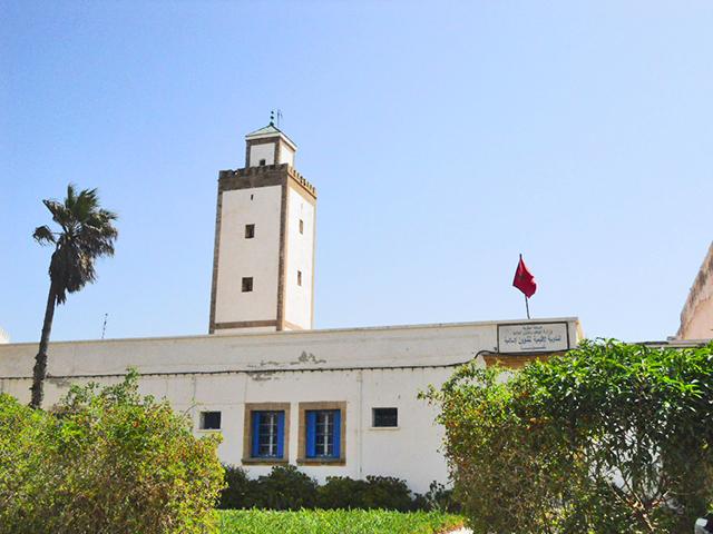 Gran mezquita centro histórico Essaouira