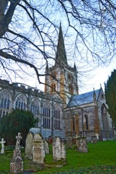 Cementerio Iglesia de la Sagrada Trinidad Stratford-Upon-Avon