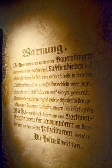 Texto alemán carta Museo Alemán Emigrantes Bremerhaven