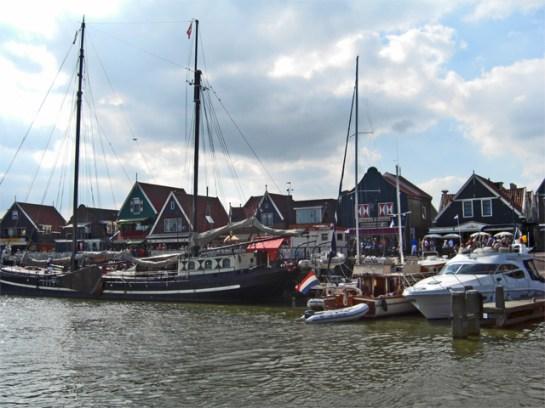 Puerto deportivo pesquero Volendam Holanda
