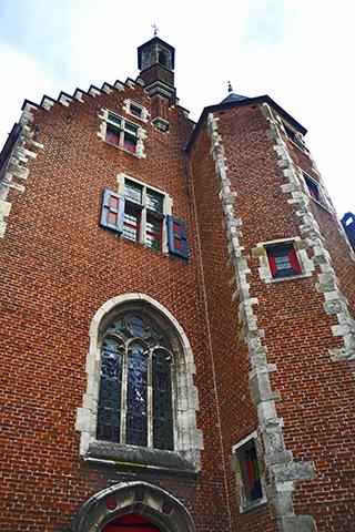 Vivienda ladrillo rojo Vlaanderen Gante Bélgica