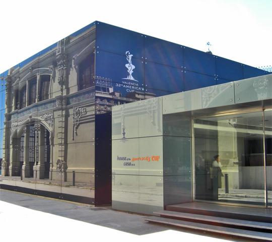 House America's Cup Louis Vuitton Valencia