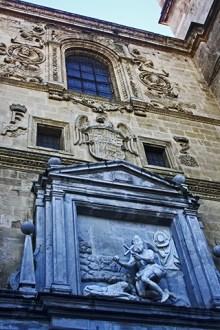 Fachada renacimiento Iglesia Monasterio San Jerónimo Granada