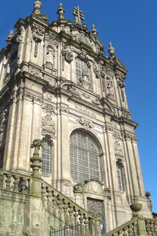 Iglesia barroca Torre de los Clérigos Oporto