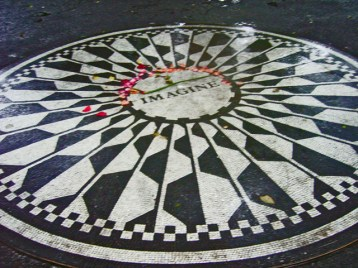 Memorial Imagine John Lennon Central Park Nueva York