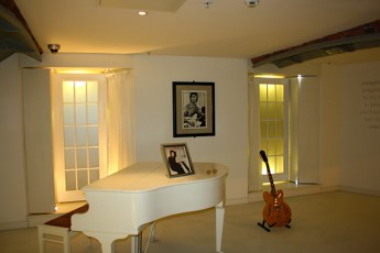 Sala Imagine casa natal John Lennon Liverpool