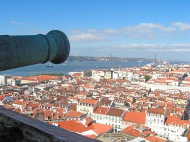 Panorámica Lisboa desde el Castillo de San Jorge