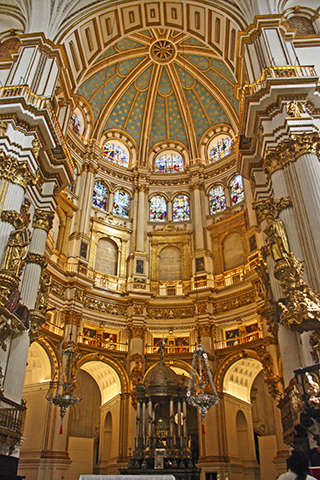 Interiores de la Catedral granaina
