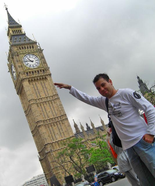 Juanjook 1 hora menos Big ben Londres